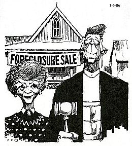 reagan farm crisis cartoon