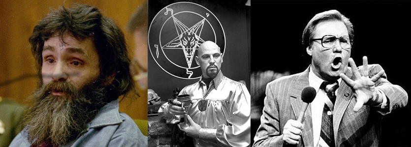 Charles Manson, Anton LaVey, and Jimmy Swaggart: Key social entrepreneurs in the creation of the 1980s American childhood.